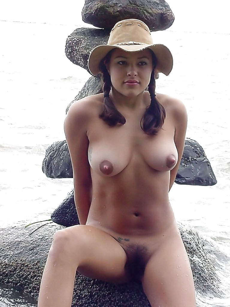 Teen and tit and beach